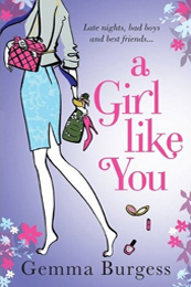 A Girl Like You book cover by Gemma Burgess