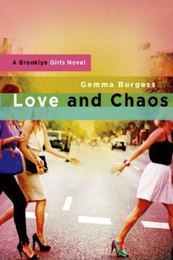 Love and Chaos book cover by Gemma Burgess
