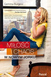 Milosc I Chaos book cover by Gemma Burgess
