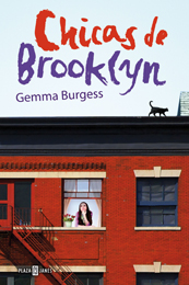 Chicas de Brooklyn book cover by Gemma Burgess
